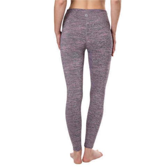 76f874b86e8be8 ... colors Use non-chlorine bleach if necessary Dry flat Do not iron Do not  dry clean Tuff Athletics Ladies' High-Waist Active Tight, Fuschia Grotto,  Small
