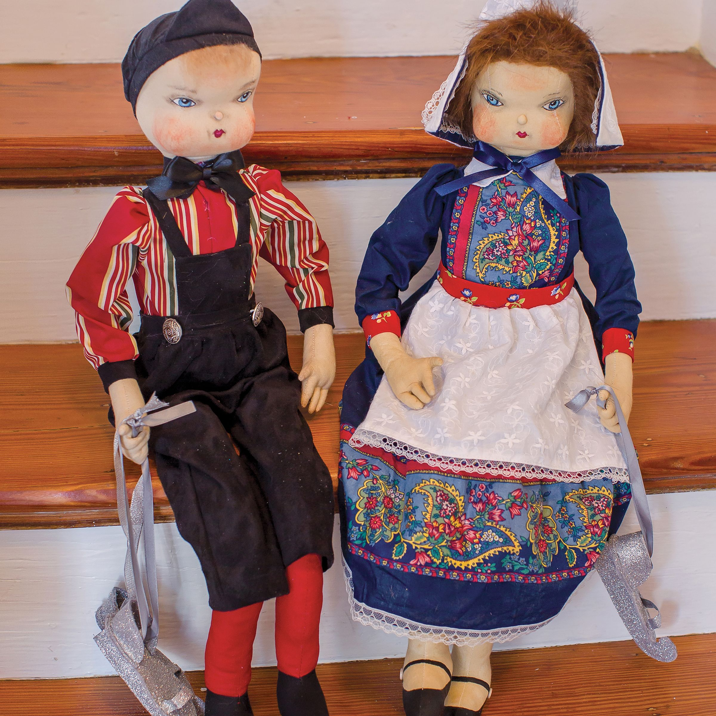 Hans Brinker Joe Spencer Gathered Traditions Art Doll