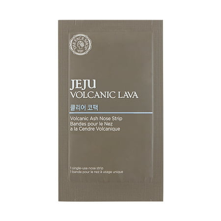 The Face Shop Jeju Volcanic Lava Volcanic Ash Nose Masks, 7
