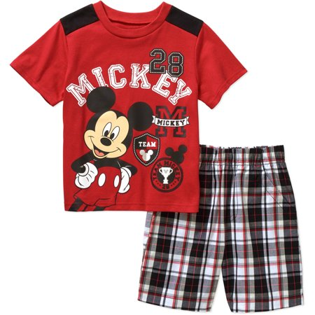 738f6b4ba5 Mickey Mouse - Mickey Mouse Ap Mickey Toddler Boy Short Set ...