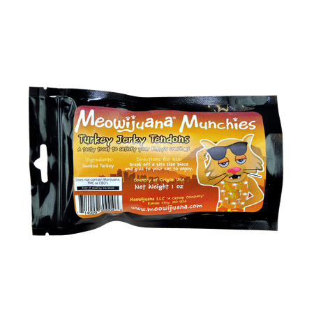 Cal Chew (Meowijuana Munchies - Turkey Jerky Chew Cat)