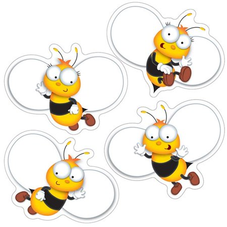 Buzz-Worthy Bees Colorful Cut Outs (Bees Colorful Cut Outs)