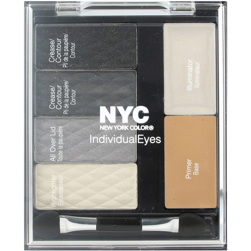 NYC New York Color IndividualEyes Shadow Compact, 944 Smokey Charcoals