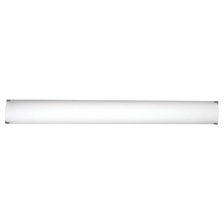 Philips Forecast 40W 120V LED Edge Decorative Bathroom Wall Light, Satin (Satin Nickel Spotlight)