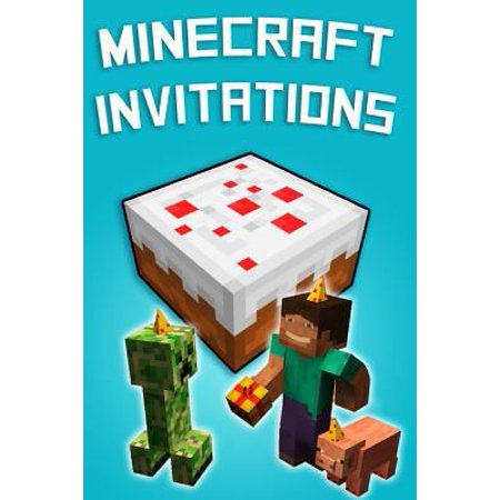 minecraft invitations walmart com
