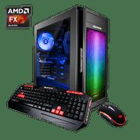 iBUYPOWER AlphaB8140A2 - Gaming Desktop PC - AMD FX 6300 - 8GB DDR3 Memory -AMD Radeon RX550 2GB - 1TB Hard Drive
