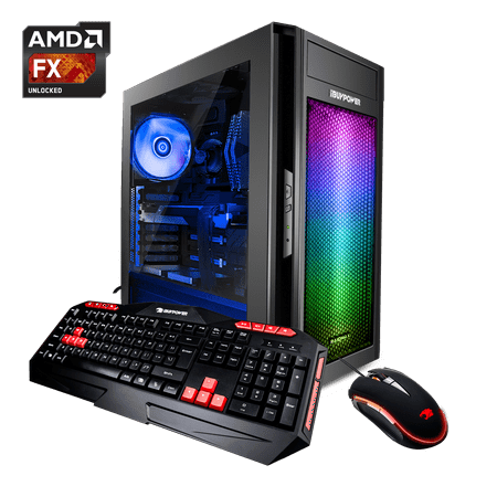 iBUYPOWER AlphaB8140A2 - Gaming Desktop PC - AMD FX 6300 - 8GB DDR3 Memory -AMD Radeon RX550 2GB - 1TB Hard Drive