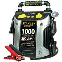 STANLEY 1000/500 Amp Jump Starter w/120 PSI Compressor (J5C09)