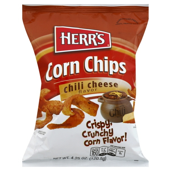 Herr's Chili Cheese Corn Chips, 4.625 Oz.