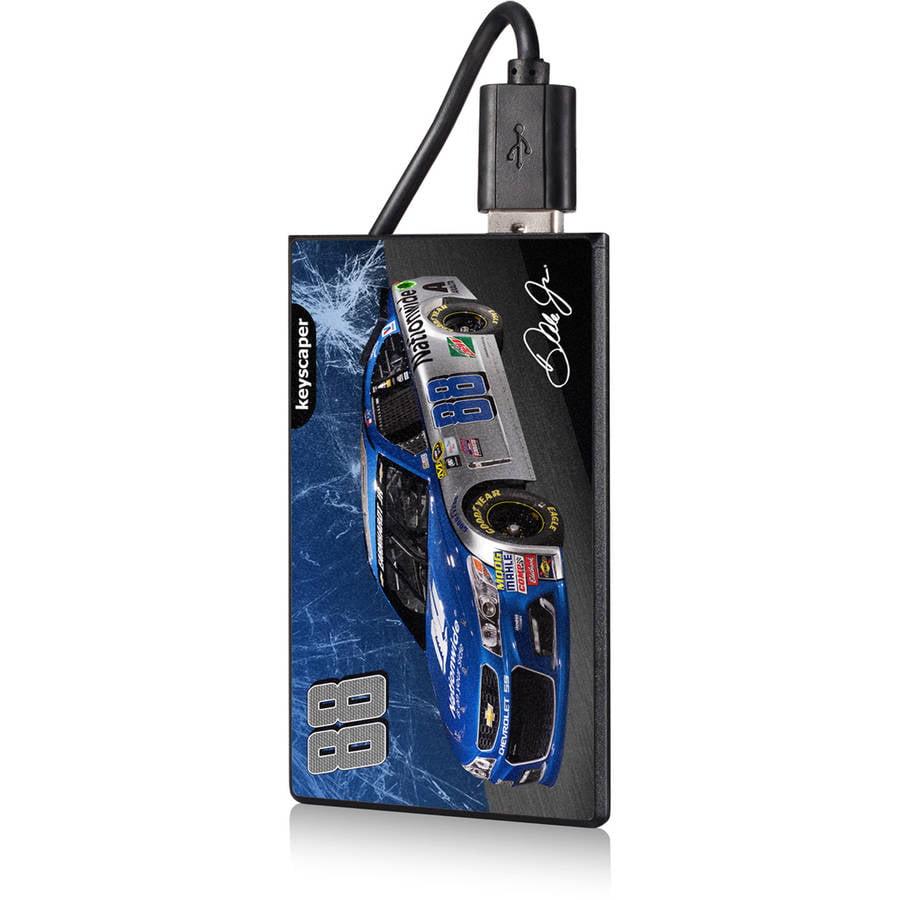 Dale Earnhardt Jr 88 Nationwide 2200mAh Credit Card Powerbank by Keyscaper by Keyscaper