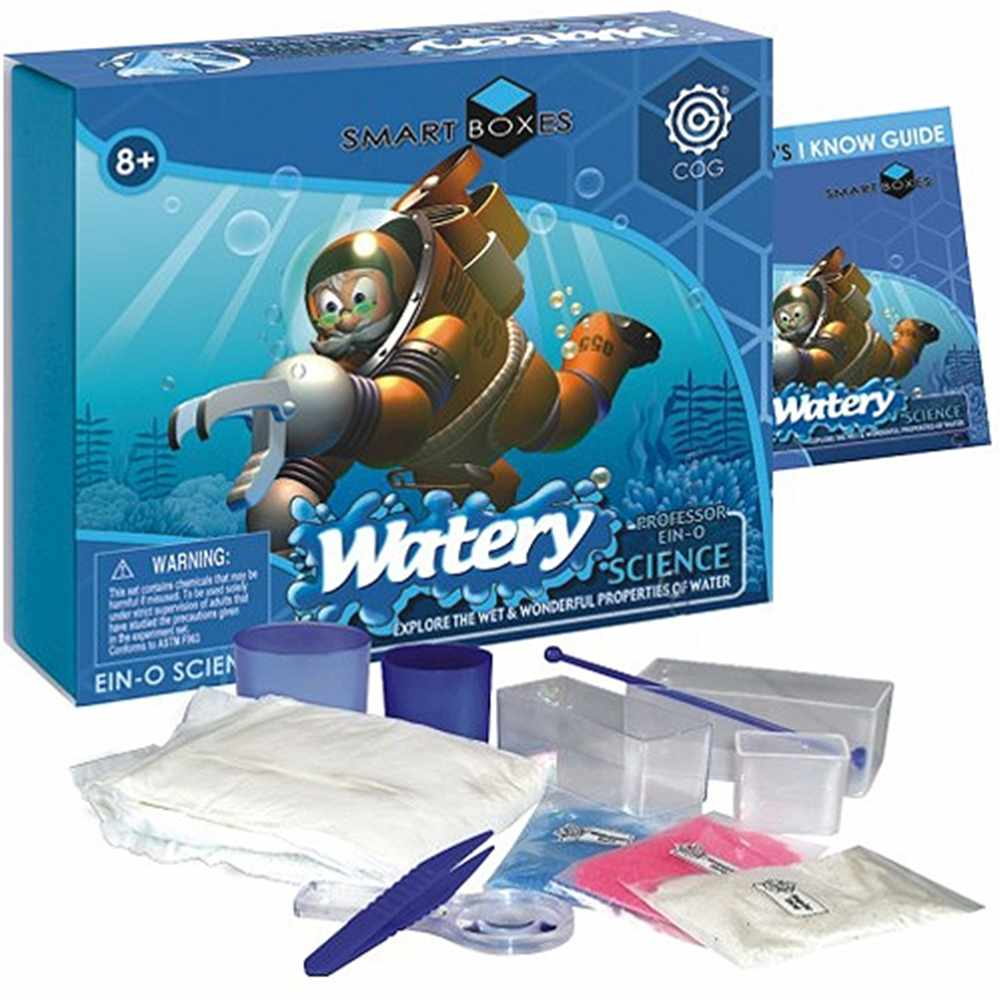 Smart Box Watery Science, Boy, Girl, Science, 8 Years And Up, 8 Years, And Up