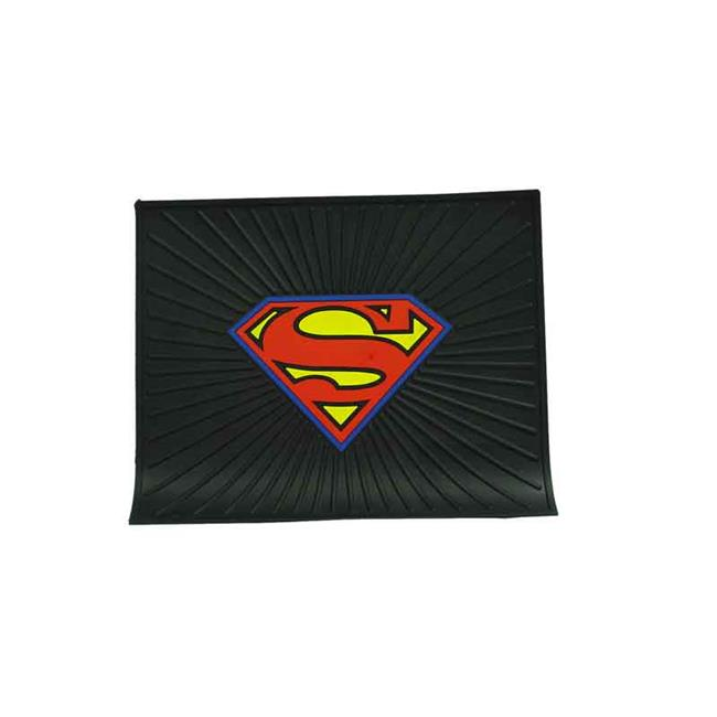 Barjan 0241046 Plasticolor Superman Logo Rubber Utility Mat