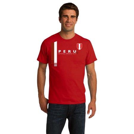 Peru National Drinking Team - Peruvian Football Futbol Soccer Unisex T-shirt