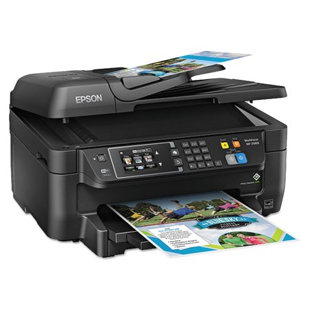 Epson Workforce Wf 2660 Aio Printer  Black