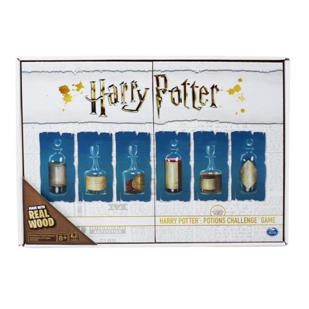 Harry Potter: Potions Challenge Game Deluxe Wooden Edition