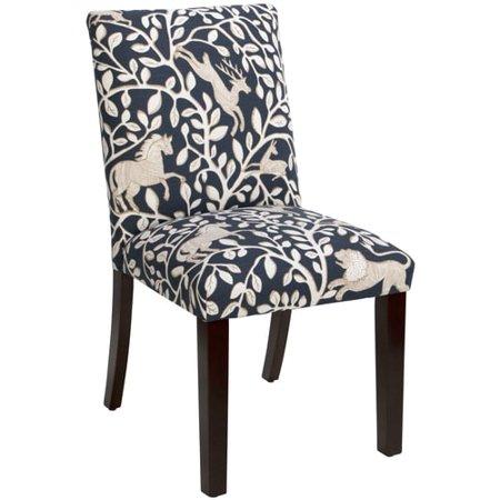 Skyline Furniture Uptown Dining Chair In Pantheon Admiral Walmart Com
