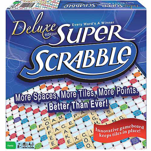 Super Scrabble Deluxe Edition by Winning Moves