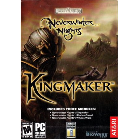 Neverwinter Nights: Kingmaker Expansion Set - Set of 3 Modules - Kingmaker + Shadow Guard + Witch