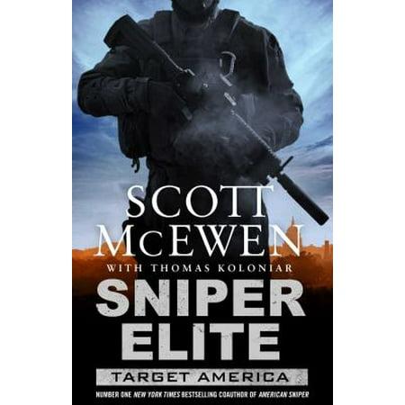 Target America  A Sniper Elite Novel  Paperback