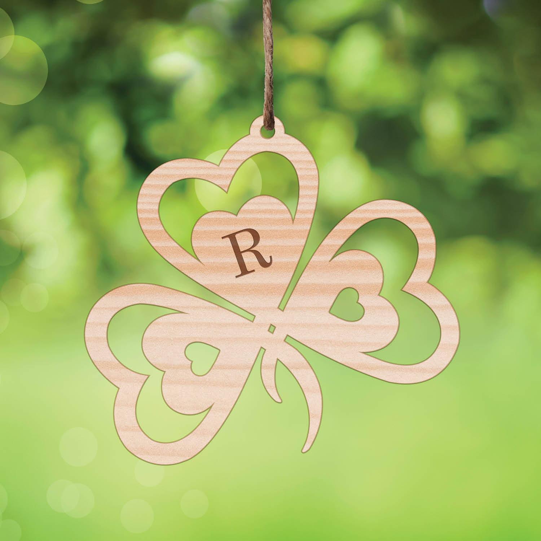Personalized St. Patricks Day - Luck of the Irish Wood Keepsake