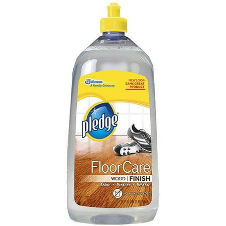 Pledge Wood Floor Finish, Clean Scent, 27 fl oz - Pledge Wood Floor Finish, Clean Scent, 27 Fl Oz - Walmart.com