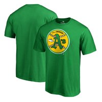 Oakland Athletics Fanatics Branded Cooperstown Collection Huntington T-Shirt - Kelly Green