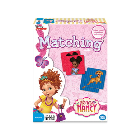 Fancy Nancy Preschool Matching Game, 1 or More Players, Ages 3+ - Halloween Pumpkin Matching Game