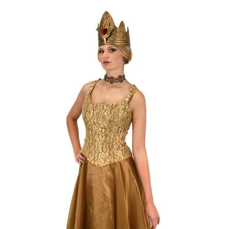 Queen Crown Adult Costume Accessory](Queen Crown Costume)
