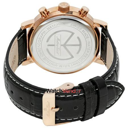62a993d0e Mathey-Tissot Vintage Chronograph Black Dial Men's Watch H41CHRN - image 1  ...