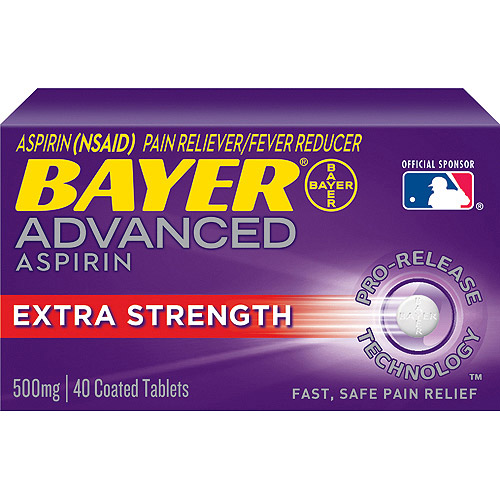 In the painkiller ranking, Tylenol Arthritis Pain performs better than Bayer Aspirin Advanced. Find out why!