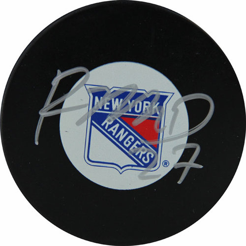 NHL - Ryan McDonagh New York Rangers Autographed Puck