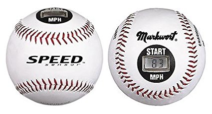 "9"" Speed Sensor Baseball (MPH) from, Changeable pitching distance 20', 30', 40', 46',... by"