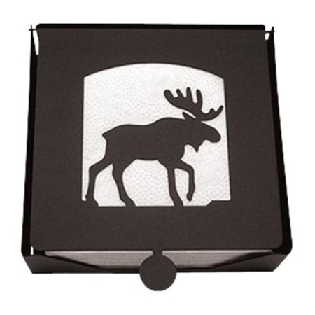 2-Piece Napkin Holder with Moose Silhouette - image 1 de 1