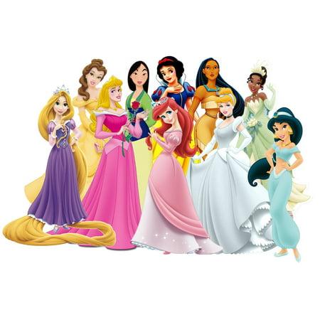 1/4 Sheet Disney Princess Edible Frosting Cake Topper*