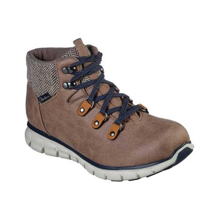 Women's Skechers Synergy Mountain Dreamer Ankle Boot Taupe 8 M