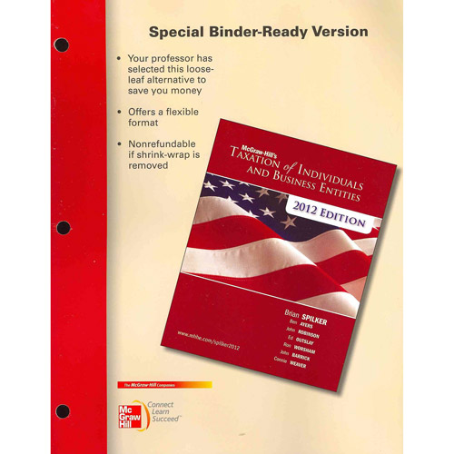 McGraw-Hill's Taxation of Individuals and Business Entities 2012