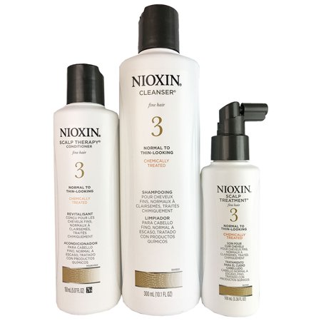 Nioxin Systtem 3 3 Piece Kit For Fine Normal To Thin Looking