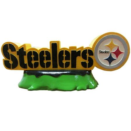 Pittsburgh Steelers Team Logo Aquarium Tank - Steeler Ornaments