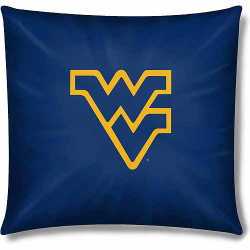 "NCAA West Virginia Mountaineers Official 15"" Toss Pillow"