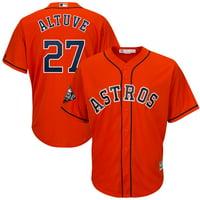 Jose Altuve Houston Astros Majestic 2019 World Series Bound Official Cool Base Player Jersey - Orange