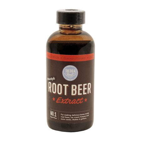 Hires Big H  Root Beer Extract, Make Your Own Root Beer 1-Pack ()