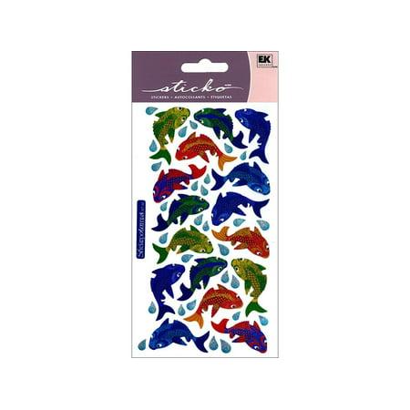 - EK Sticko Sticker Fantastic Fish