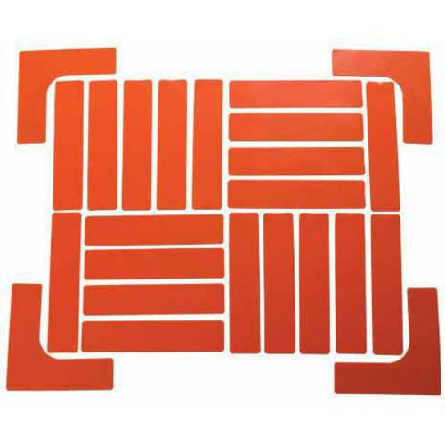 Quick-Mark Boundary Markers Set, Orange