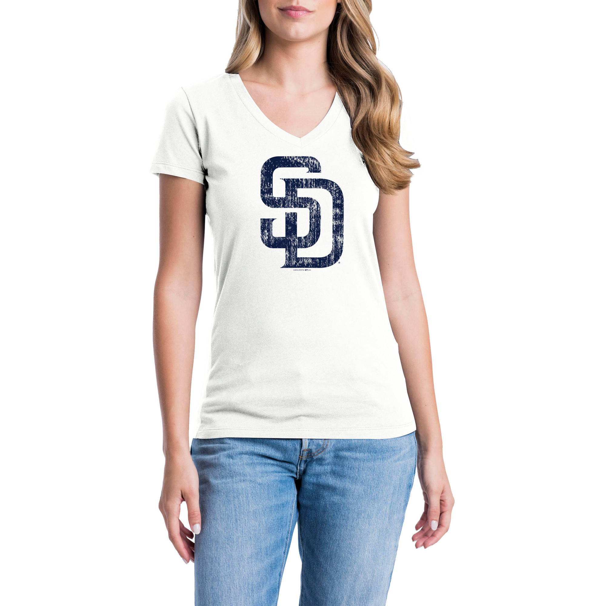 San Diego Padres Womens Short Sleeve Graphic Tee