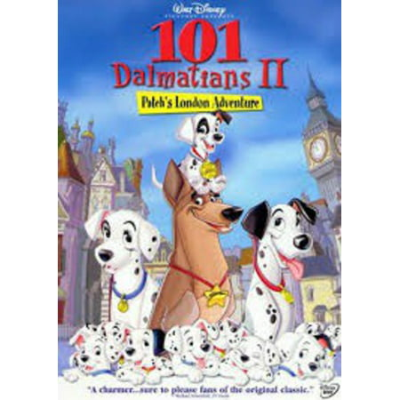 101 Dalmatians Outfit (101 Dalmatians II: Patch's London Adventure (Blu-ray + DVD + Digital)