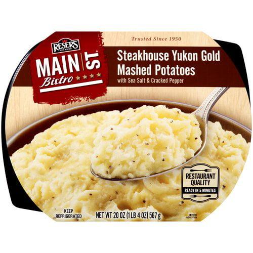 Main St Steakhouse Yukon Gold Mashed Potatoes