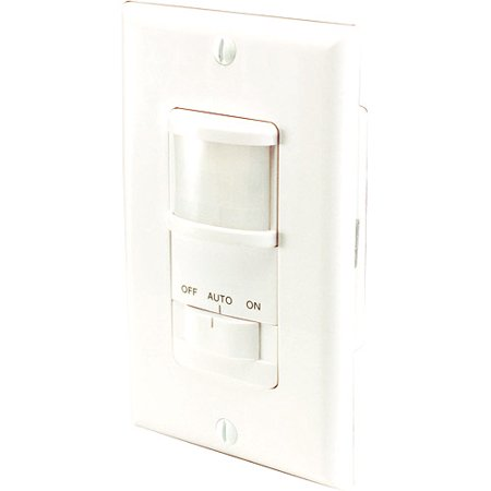 heath zenith occupancy motion sensor wall switch white. Black Bedroom Furniture Sets. Home Design Ideas