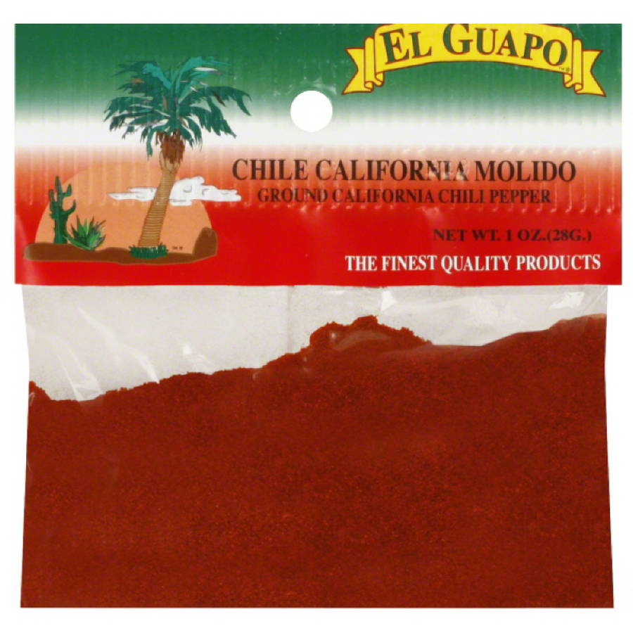 El Guapo Ground California Chili Pepper, 1 oz, (Pack of 12)