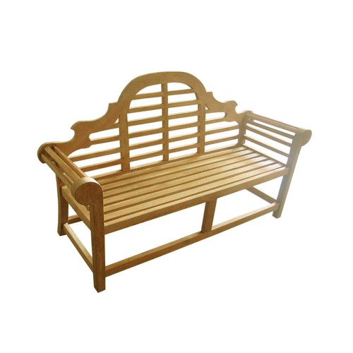 D-Art Collection Lutyen Wood Garden Bench