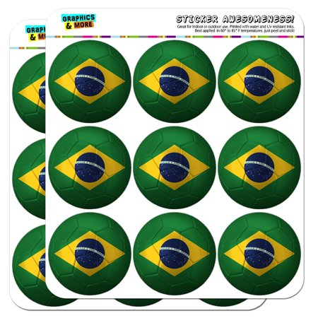 Brazil Flag Soccer Ball Futbol Football 2